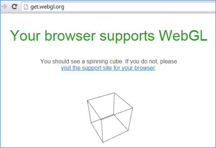My browser supports WebGL, but Tinkercad doesn't acknowledge